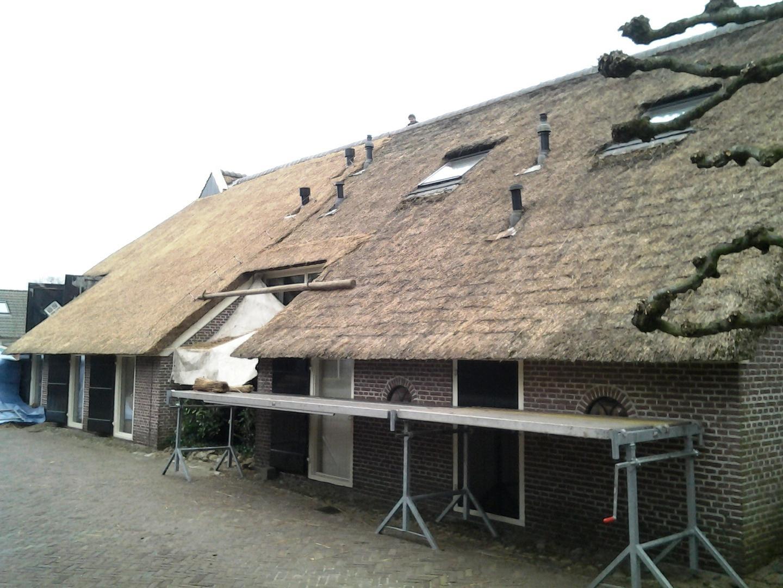 rieten dak zelf onderhouden